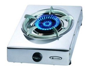 Wok Burner Cooker with Flame Failure safety device - Natural Gas