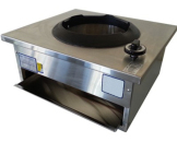 Semi commercial domestic wok burner - Natural or LP Gas