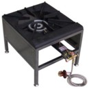 Dual ring LP Gas high pressure stockpot burner
