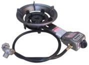 Auto Ignition Dual Ring Burner - LP Gas