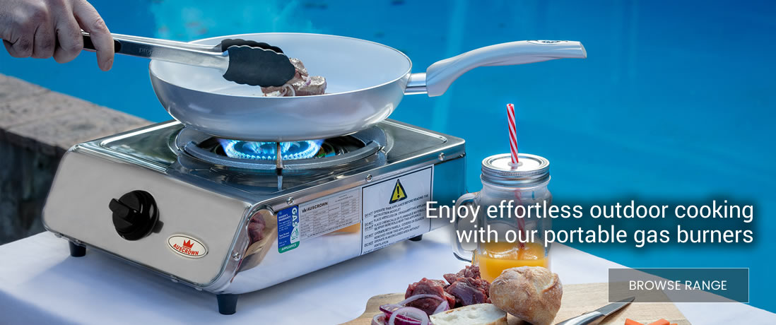 Gas Burners for Outdoor Cooking
